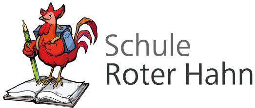 Roter Hahn Kunst willkommen schule roter hahn